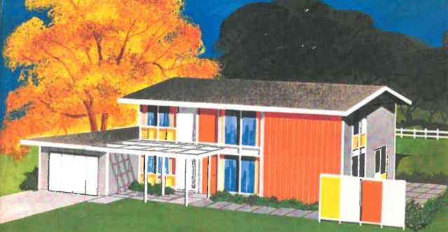 NAHB 1960 Research House rendering