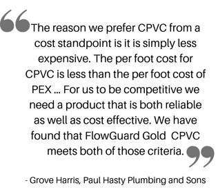 CPVC Quote Grove Harris