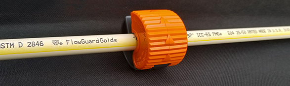 FlowGuard Gold CPVC pipe and orange pipe cutter