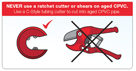 c-style vs ratchet cutter for pipe