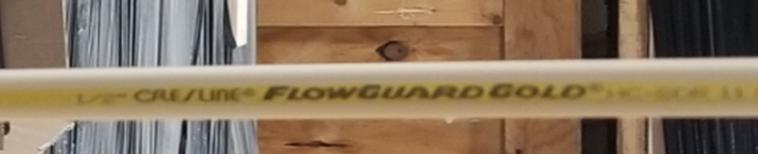 cresline flowguard gold pipe