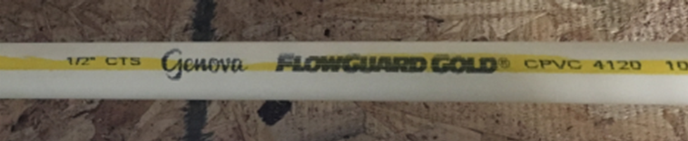 genova flowguard gold pipe